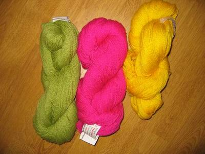 Three skeins
