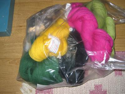 All the yarn in a bag