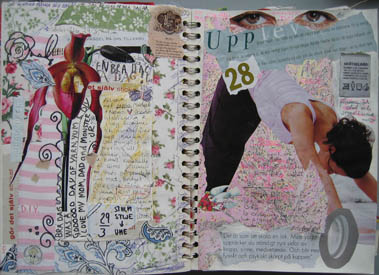 Art Journal page: Experience