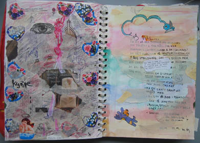 From my art journal