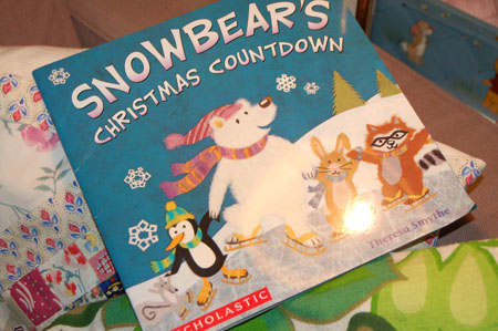 Snowbear book from Theresa
