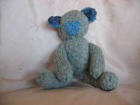 A Knitted Teddy, called James