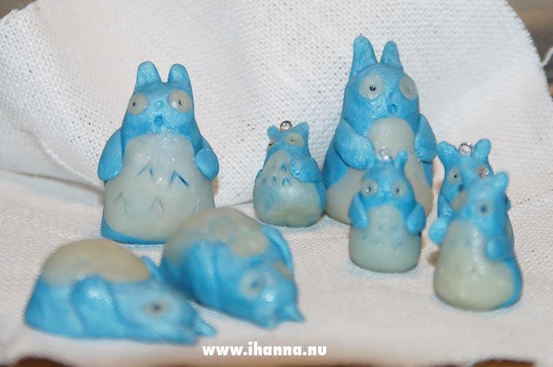 Totoro in clay by iHanna 2005