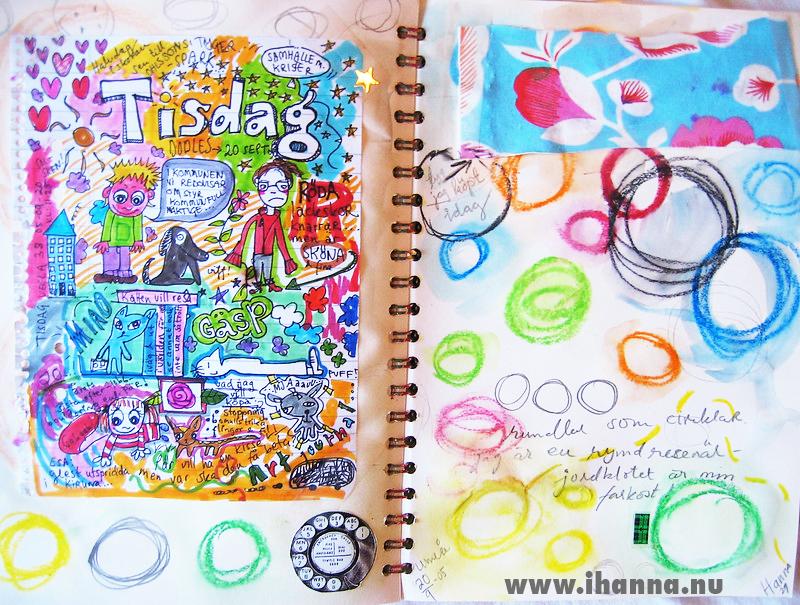 iHanna's Art Journal 2005 - copyright Hanna Andersson