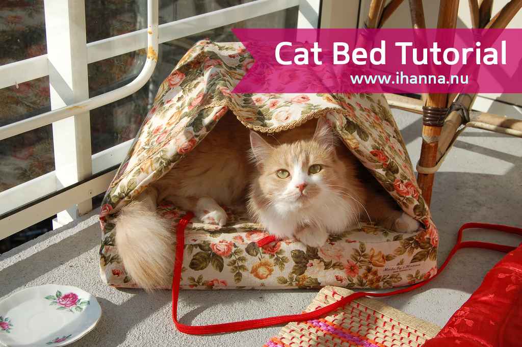 Handmade Cat Bed For Smilla The Copyright Hanna Andersson