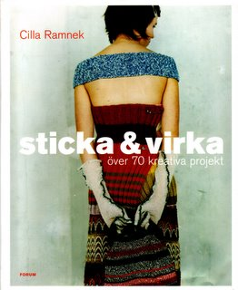 Knitprovisation by Cilla Ramnek (Swedish book cover)