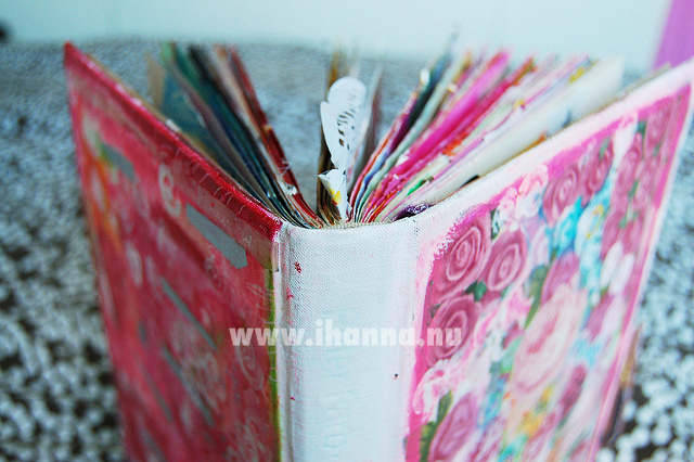 Altered book cover by iHanna of www.ihanna.nu