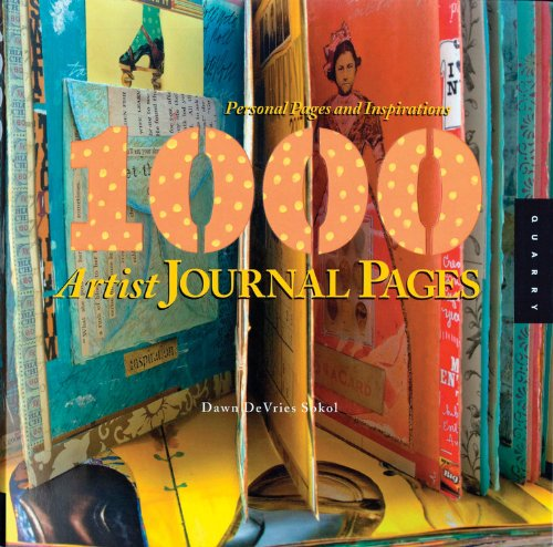 1000 artist journal pages – and I am in it