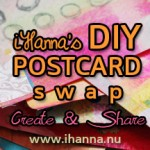 Use the DIY postcard swap button on your site!