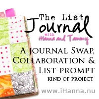 List Prompt #9: things I collect for Art Journaling