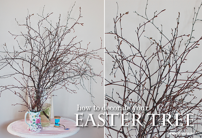 How to decorate Your Easter Tree