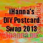 iHanna's DIY Postcard Swap 2013 (link button version 2)