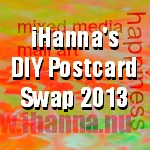 iHanna's DIY Postcard Swap 2013 (link button)