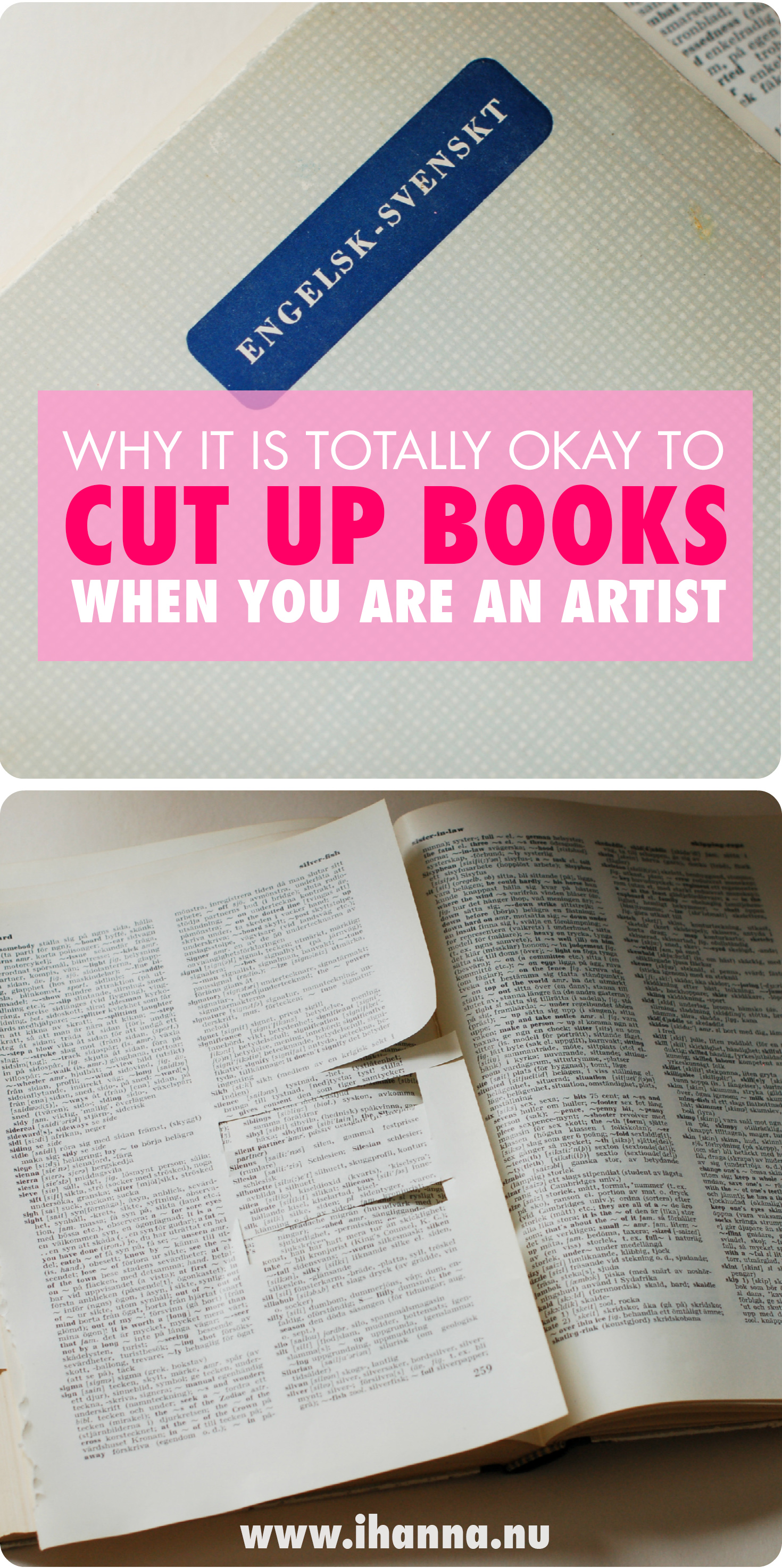 Why Cutting up Old Books is Allowed