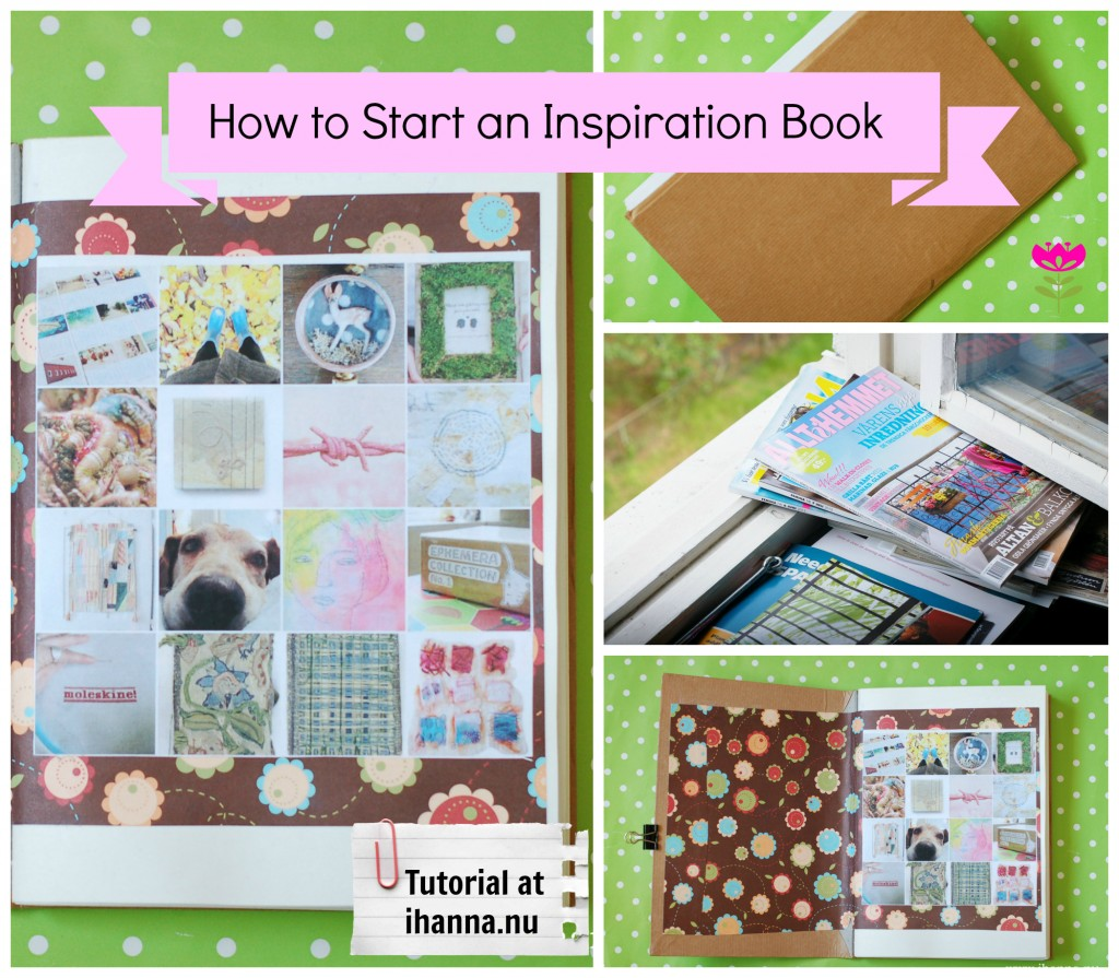 How to Start an Inspiration Notebook