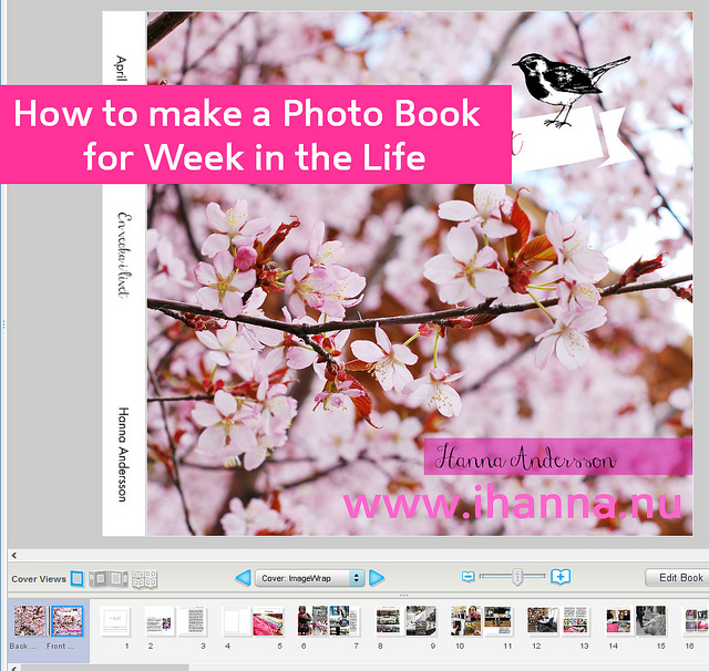 How to make a Photo Book for Week in the Life