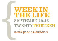 Week in the Life 2013