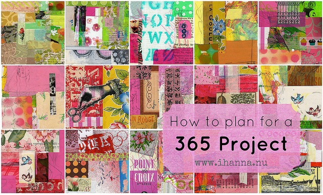 How to plan a 365 Project by iHanna of www.ihanna.nu