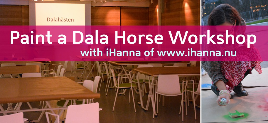 Paint Your Own Dala Horse Workshop