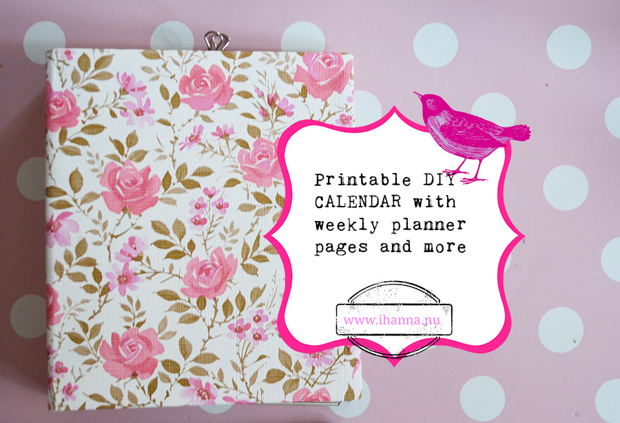 Printable DIY Planner Pages