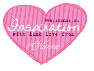Inspiration with link love from iHanna (link list at www.ihanna.nu)