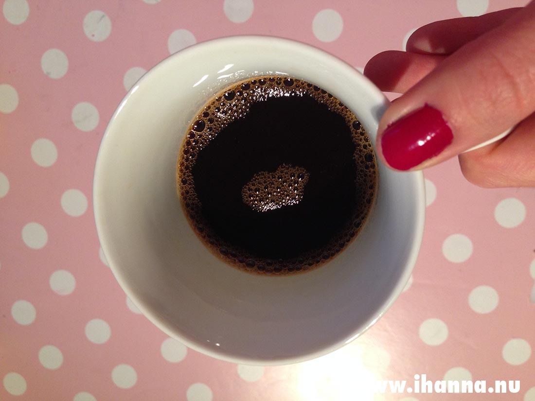 Drinking it black Photo Copyright Hanna Andersson