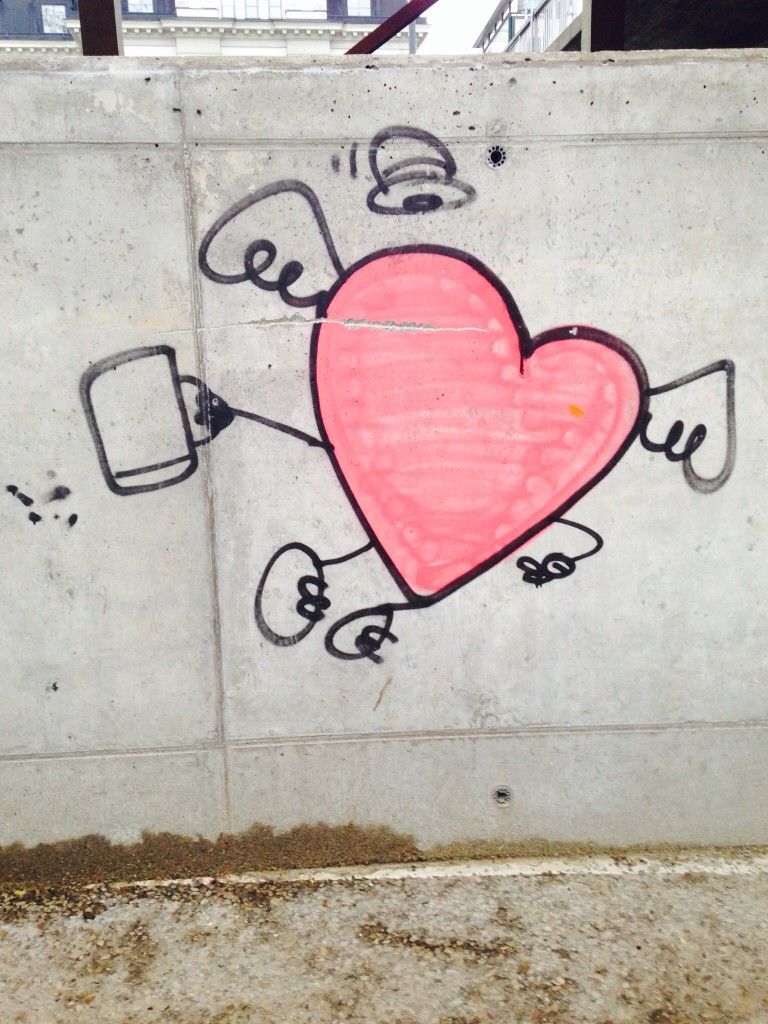 Grafitti heart