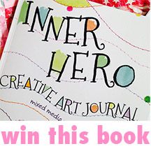 Win this book - Inner Hero creative Art Journal - at www.ihanna.nu
