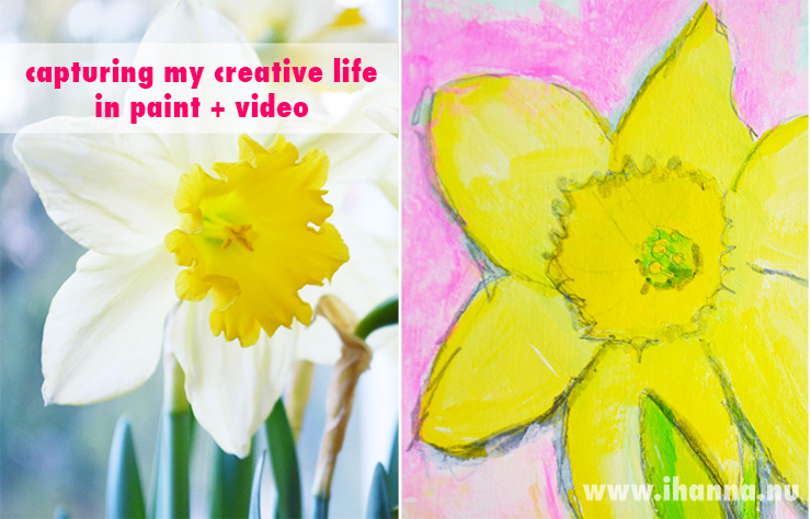 iHanna's Creative Life in Art journaling and a Time Capsule Video, on www.ihanna.nu