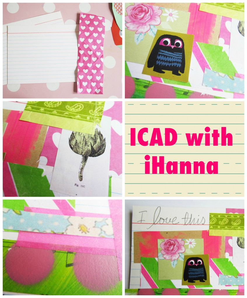 Index Card Creativity - a collage video by iHanna at www.ihanna.nu #icad