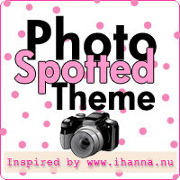 What themes do you spot in your photographs? Join the fun: Spotted Photo Theme - inspired by iHanna at www.ihanna.nu