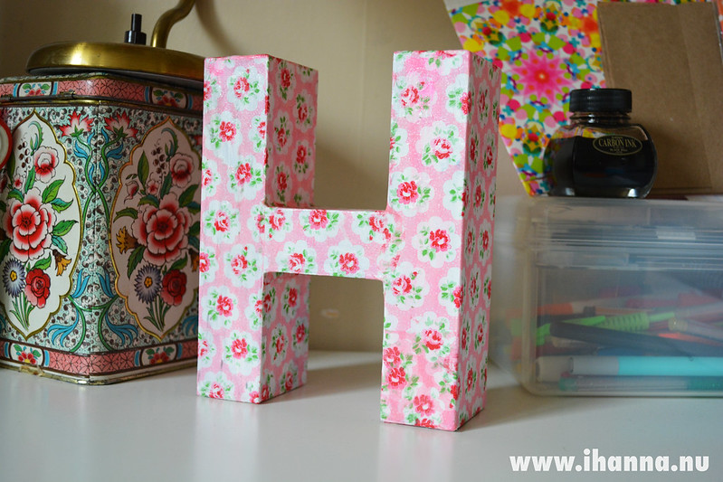 H is for Hanna, happiness and Home Comforts