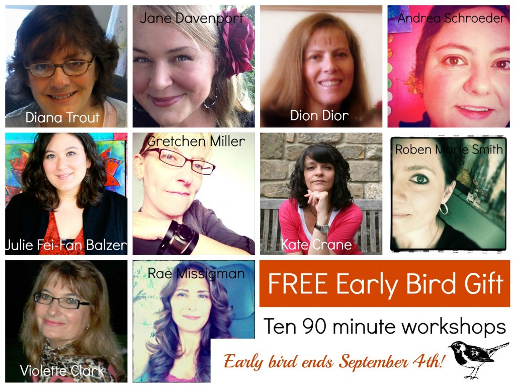 Sign up for 21 Secrets Art Journal Workshop Fall 2015 - via @iHanna - Early Bird Promo if you sign up before Sept 4th!!