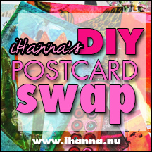 Join iHanna's DIY Postcard Swap Fall 2015 right now!