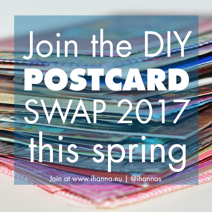 Join the DIY Postcard Swap 2017