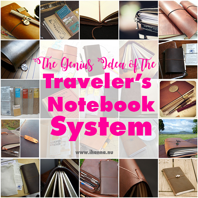 The Midori Traveler's Notebook System | The ultimate guide