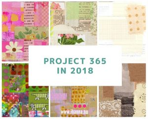 Project 365 Creative Somethings in 2018 - join in and be creative all year long, with iHanna
