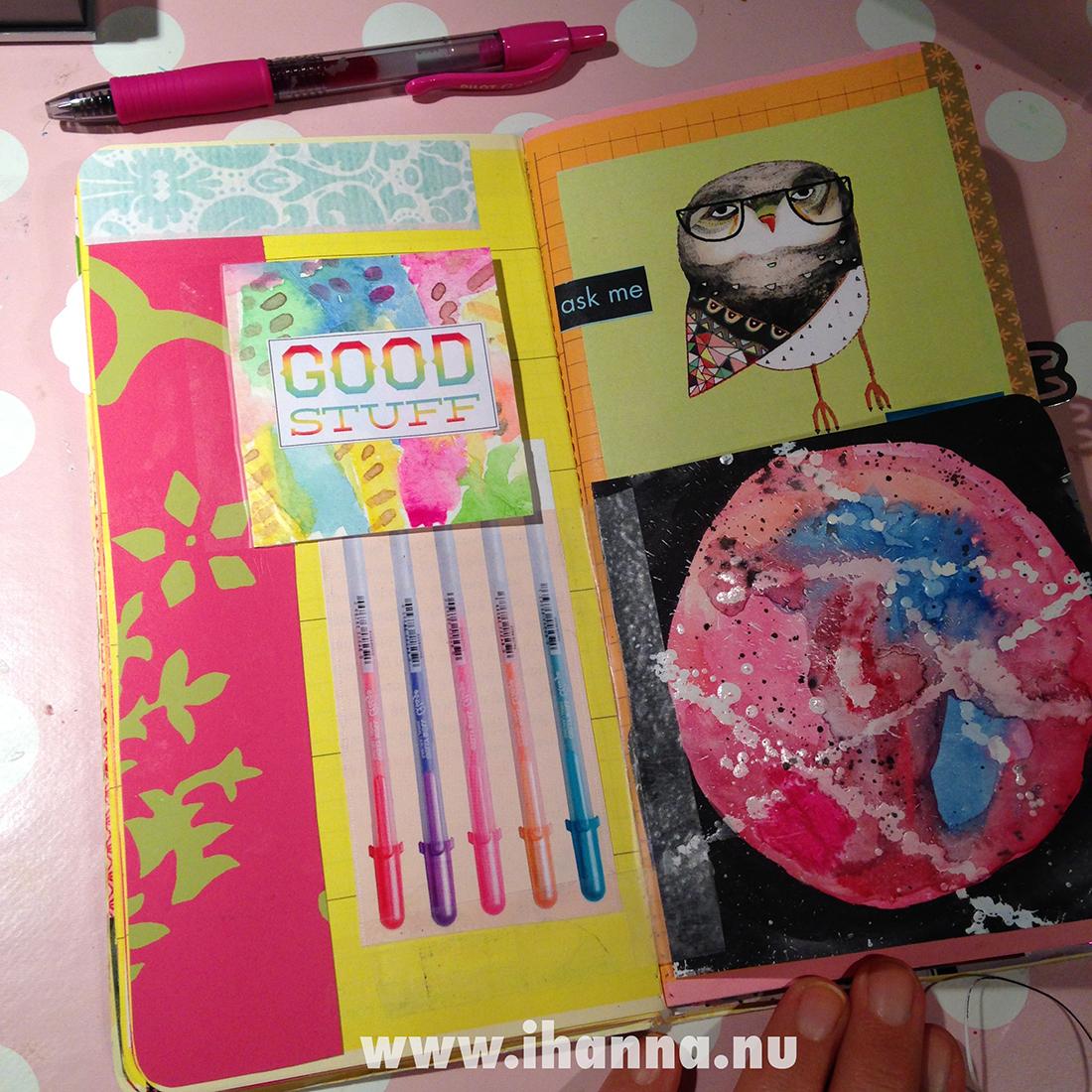 Traveler's Notebook Randomosity vol 2 - BLOOD MOON