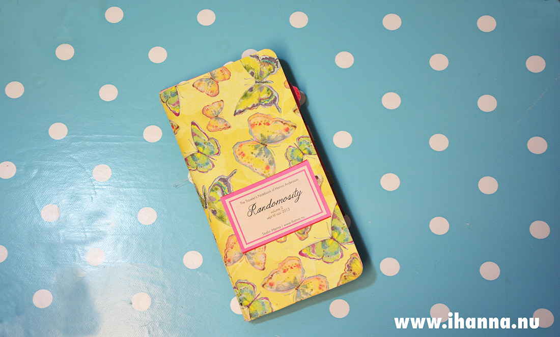 Butterfly cover of the Traveler's Notebook Randomosity vol 2 by iHanna