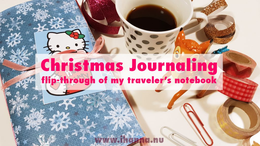 December Daily Flip-through | Traveler's Notebook style