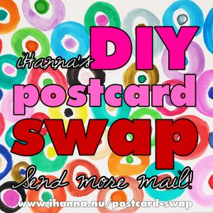 Join iHannas DIY Postcard Swap Spring 2019 - sign up here!