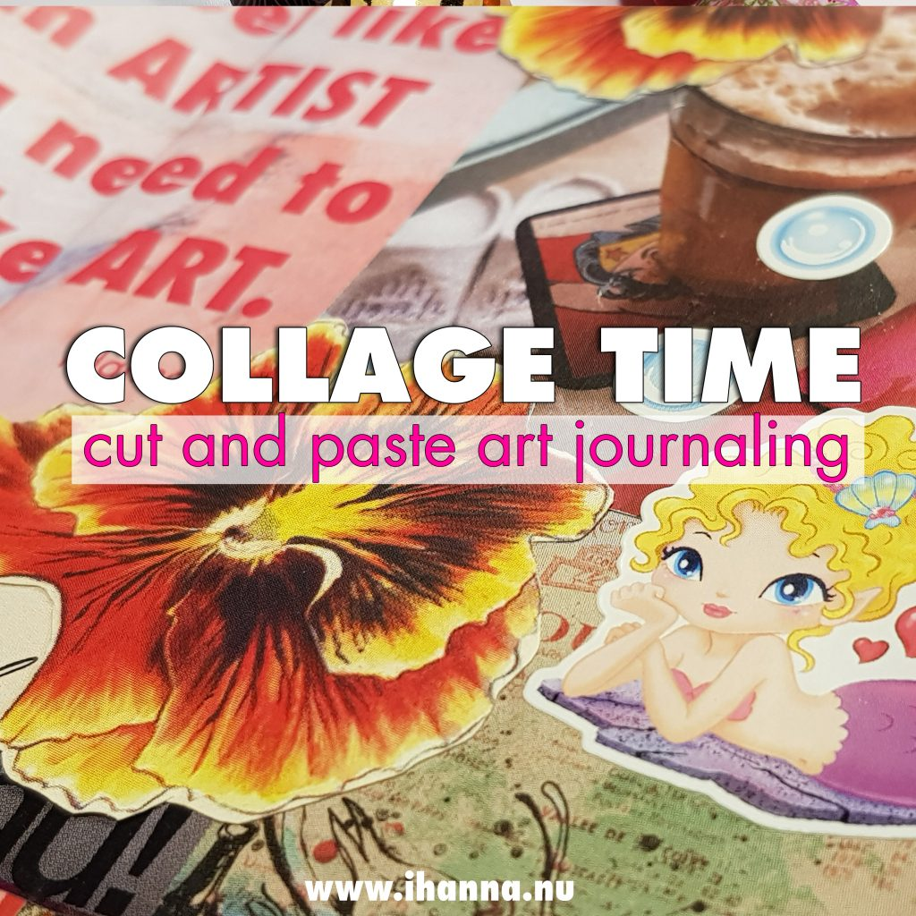 Traveler's Notebook Art Journal | Cut and Paste Video