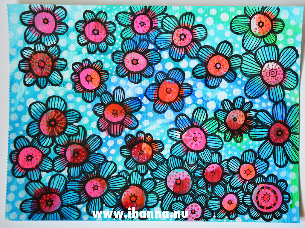 Craft-a-doodle flowers by iHanna