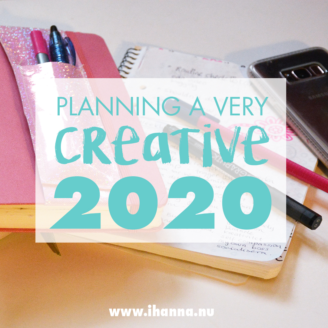 iHanna Planning a very creative 2020 - you can too!