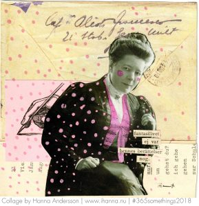 Art Collage by Hann Andersson aka iHanna called write me a letter darling - Collage 29