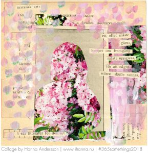 Art Collage by Hanna Andersson aka iHanna called Anon - but not no-one - Collage nr 35