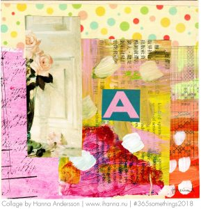 Art Collage by Hanna Andersson aka iHanna called A Student in the Art of Living - #Collage nr 44