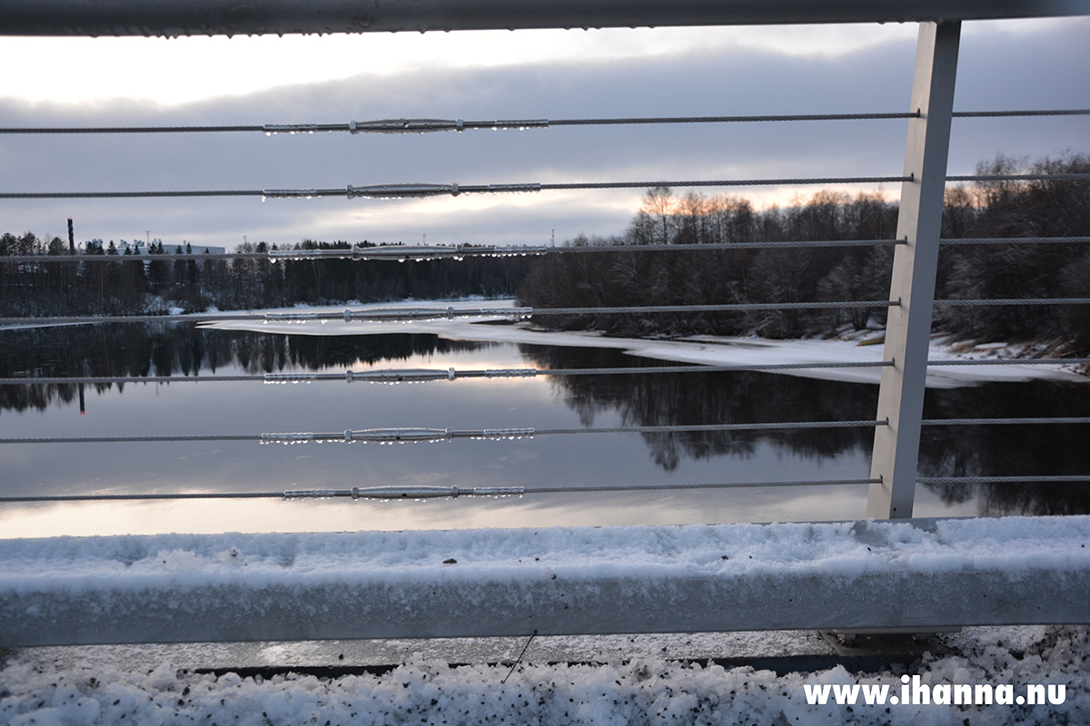 Water dripping from the new bridge - Photo copyright Hanna Andersson