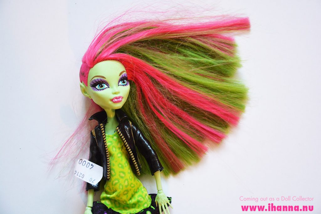 Thrifted Monster High Doll Venus McFlyTrap