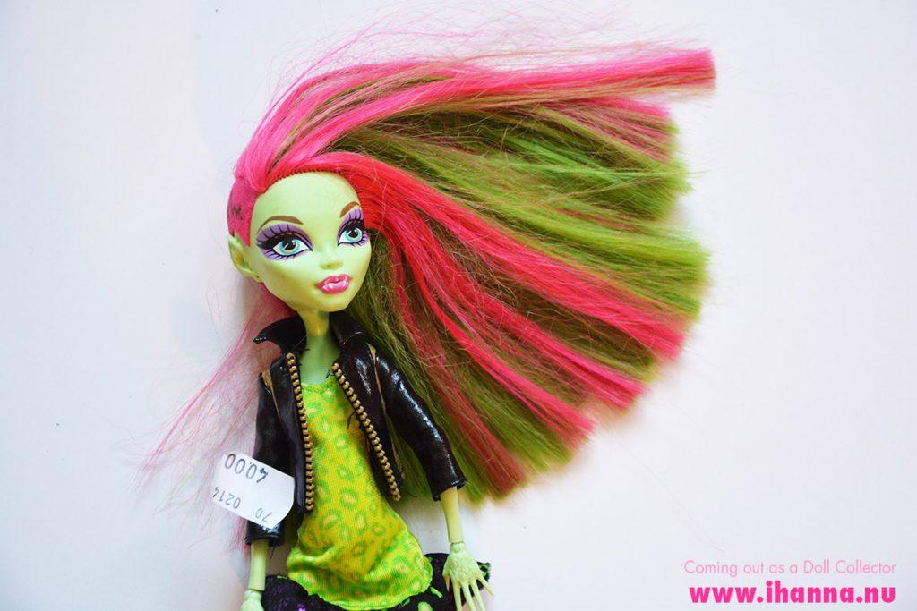 Thrifted Monster High Doll Venus McFlyTrap